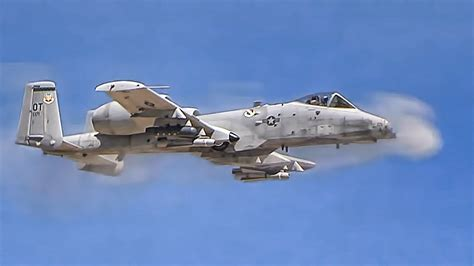 A-10 Thunderbolts Firing Cannons & Rockets - YouTube