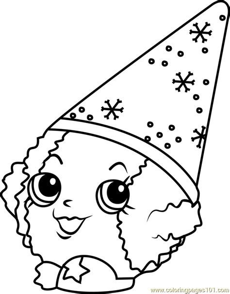 shopkins coloring pages snow crush   Coloring Pages